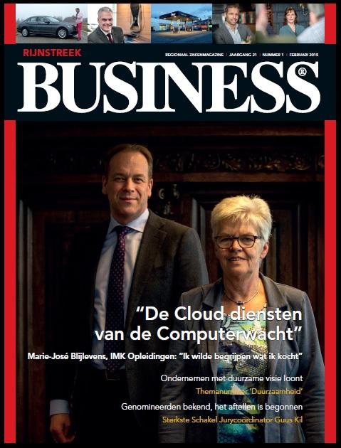Rijnstreek Business cover februari 2015