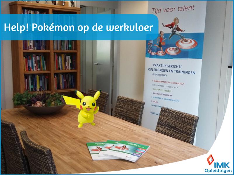 Pokémon op de werkvloer_IMKOpleidingen_2016