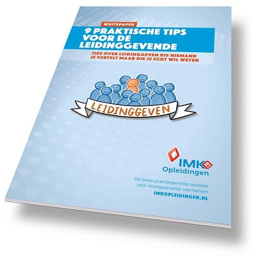 IMK Opleidingen (c) Whitepaper 9 praktische voor leidinggevenden
