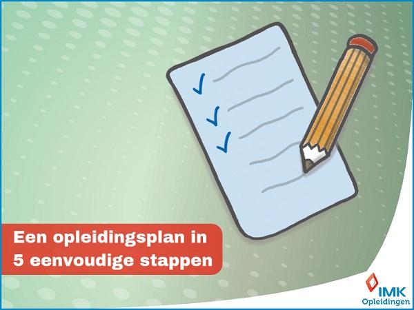 Een opleidingsplan in 5 eenvoudige stappen (c) IMK Opleidingen