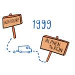 Tijdlijn IMK Opleidingen 1999 verhuizing van Hoofddorp naar Alphen aan den Rijn