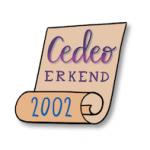 Tijdlijn IMK Opleidingen 2002 Cedeo erkend