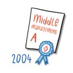 Tijdlijn IMK Opleidingen 2004 nieuwe opleiding Middle Management A