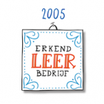 Tijdlijn IMK Opleidingen 2005 Erkend leerbedrijf