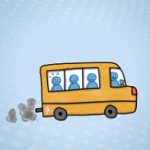 Voor of achter in de bus - vol - IMK Opleidingen 2018