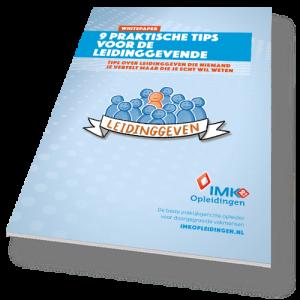 IMK Opleidingen whitepaper_ 9 praktische tips voor de leidinggevende