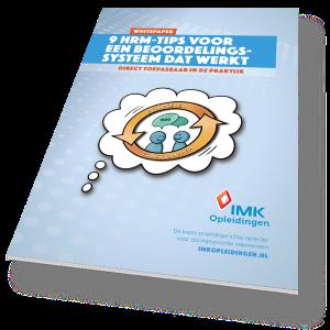 Whitepaper beoordelingscyclus - IMK Opleidingen