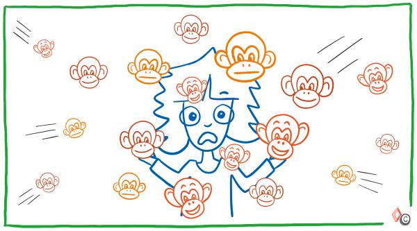 Aapmanagement - paniek - IMK Opleidingen
